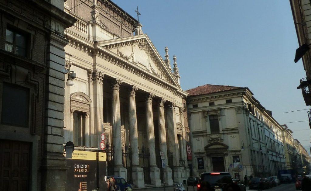 Ägyptisches Museum Turin während Renovierung 2013