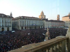 Piazza Castello - Movimento 5 stelle
