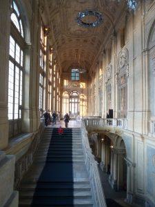 Palazzo Madama - Freitreppe von Filippo Juvara
