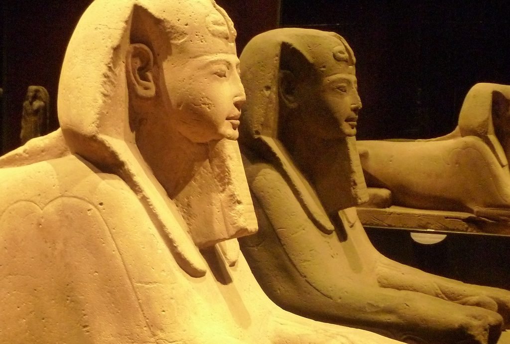 Sphinx Ägyptisches Museum Turin