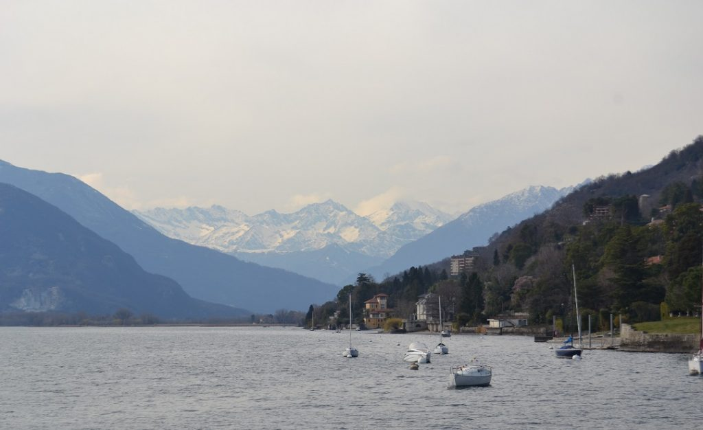 Suna, Blick aufs Weißmies (4017 m) im Wallis