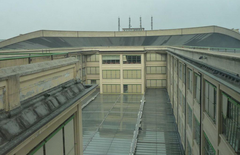 Turin Lingotto Teststrecke la pista