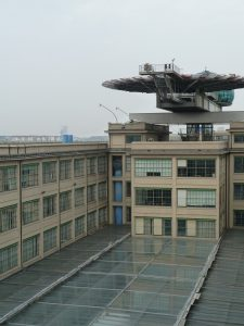 Lingotto mit Heliport