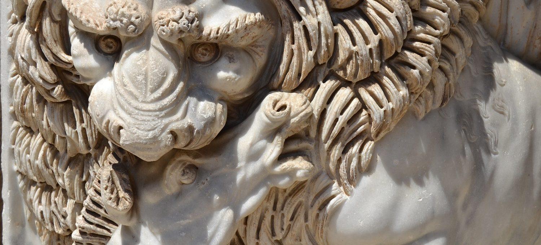 Vatikanische Museen Reliefdetail