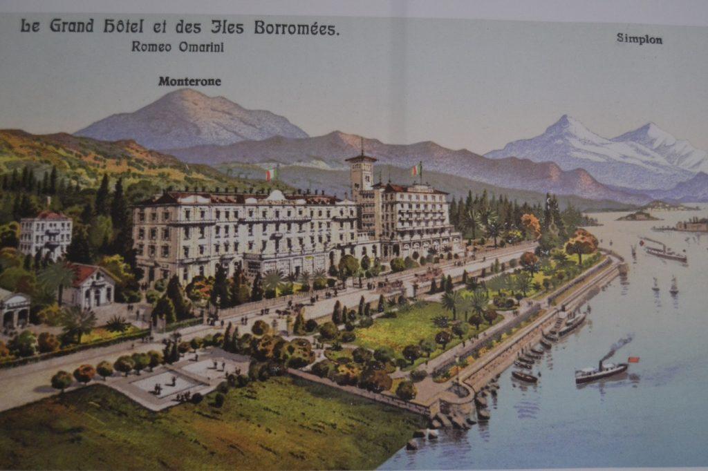 Stresa, historic postcard