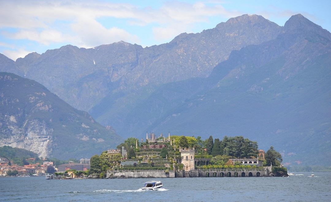 Blick auf Isola Bella von Stresa