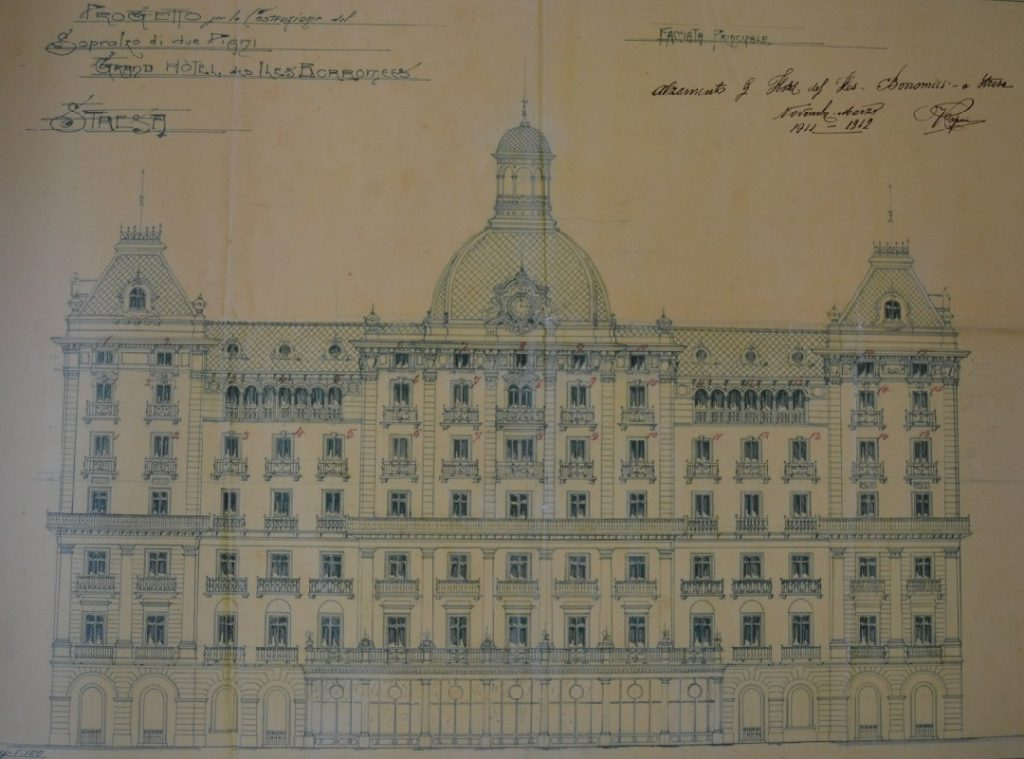 Fassadenplan Iles des Borromees