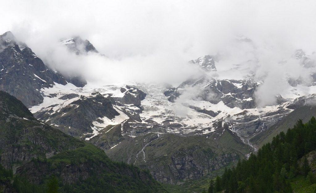 Gletscher zum Greifen nah