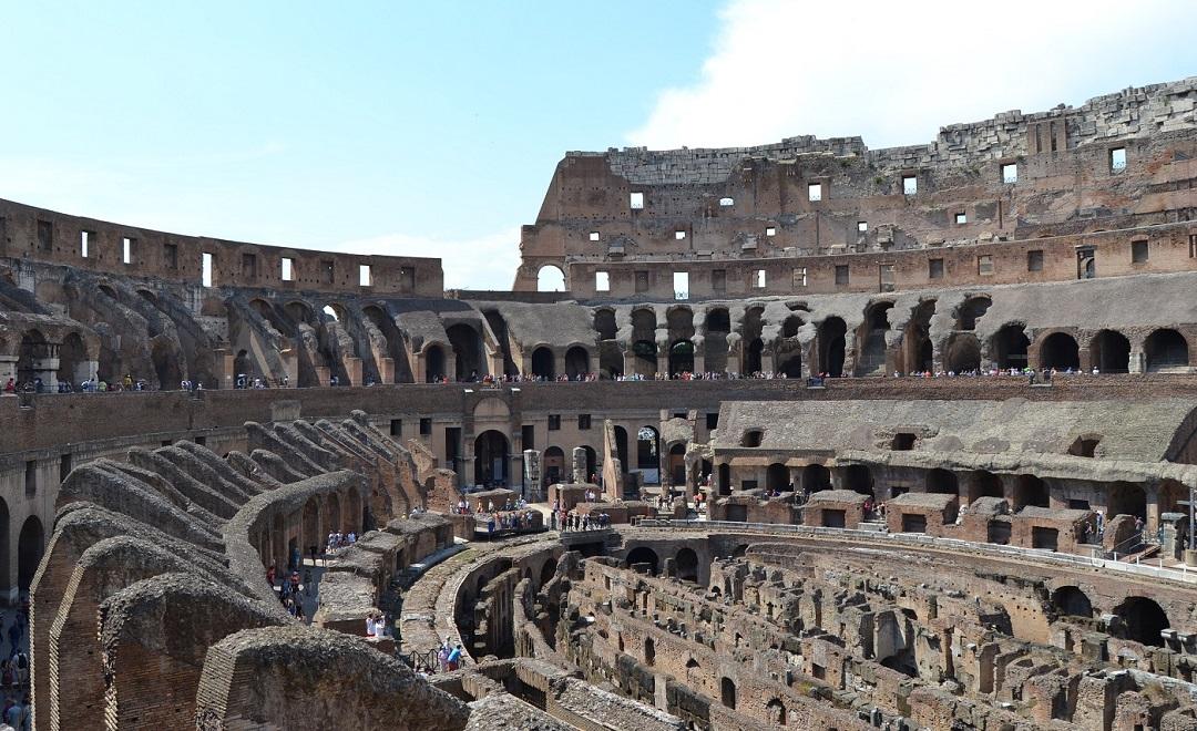 Kolosseum Rom Innenansicht
