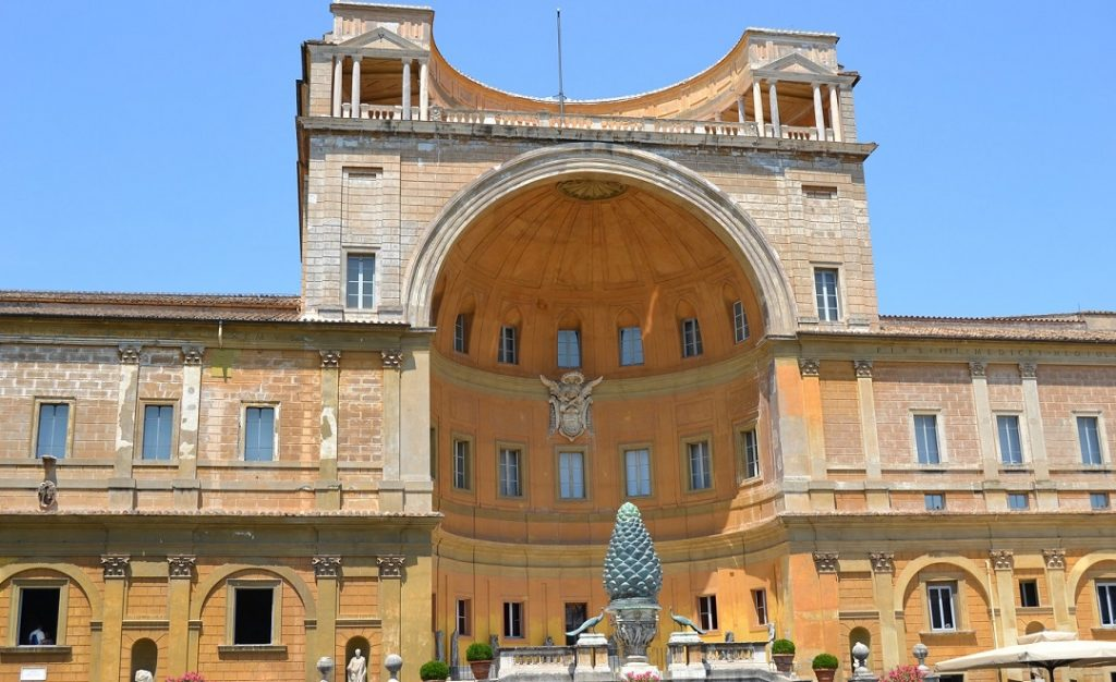 Vatikanische Museen Innenhof
