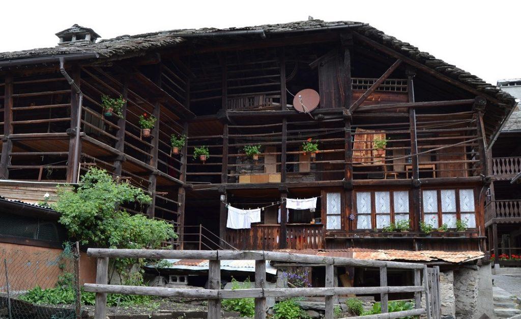 Walserhaus in Alagna Valsesia