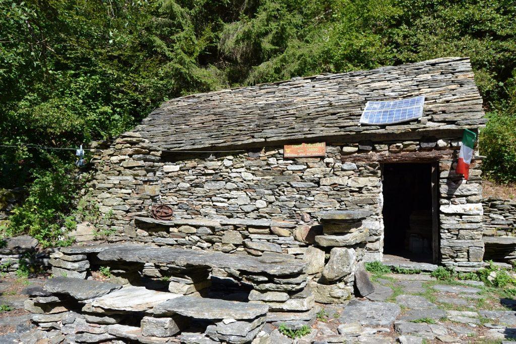 Bivouac in Val Gabbio