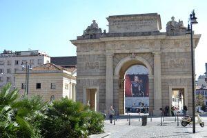 Porta Garibaldi - triumphal arch through the ages