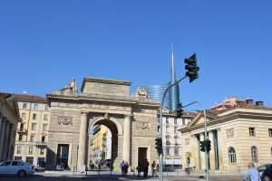 Porta Garibaldi und Unicredit-Gebäude
