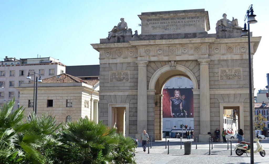 Porta Garibaldi Mailand