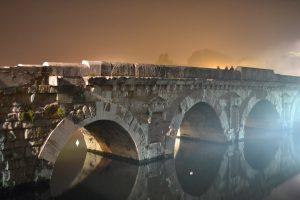 Mist to bridge - Ponte di Tiberio