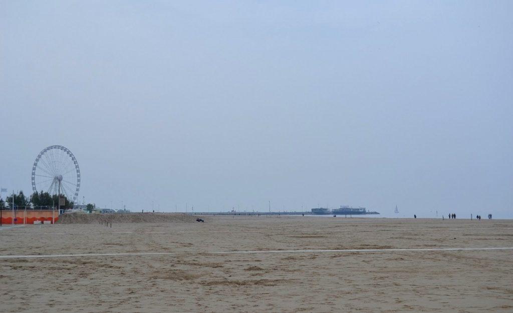 Rimini Strand Riesenras Seaside