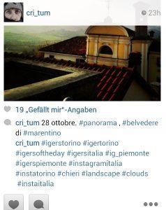 Suche nach neuen hashtags neben #igerspiemonte