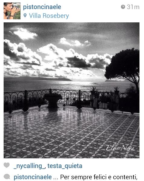 Heutiges Fundstück - Villa Rosebery in Neapel