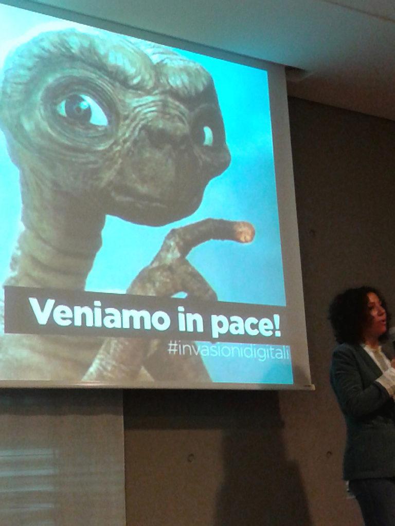 Marianna Marcucci stellt invasionidigitali vor, Jam Session TBDItaly 2013