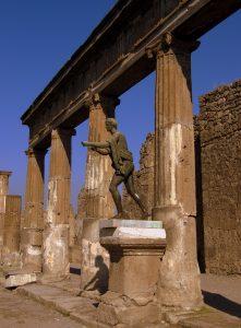 Appollo als Bogenschütze, Pompeji