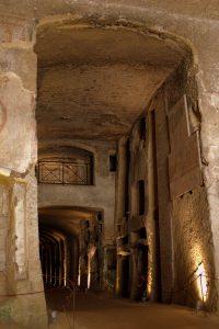 In den Katakomben von St. Gennaro, Neapel