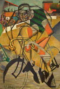 Jean Metzinger An der Radrennbahn (1912)