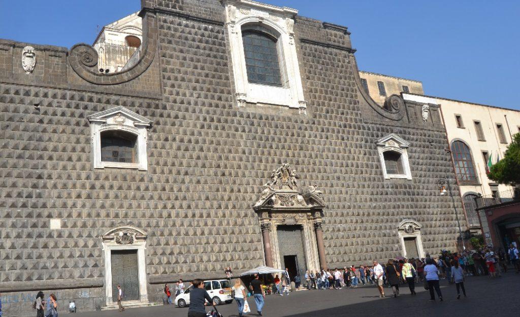 Kirche Gesù Nuovo, Neapel