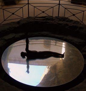 Modern reflection, St. Gennaro catacombs