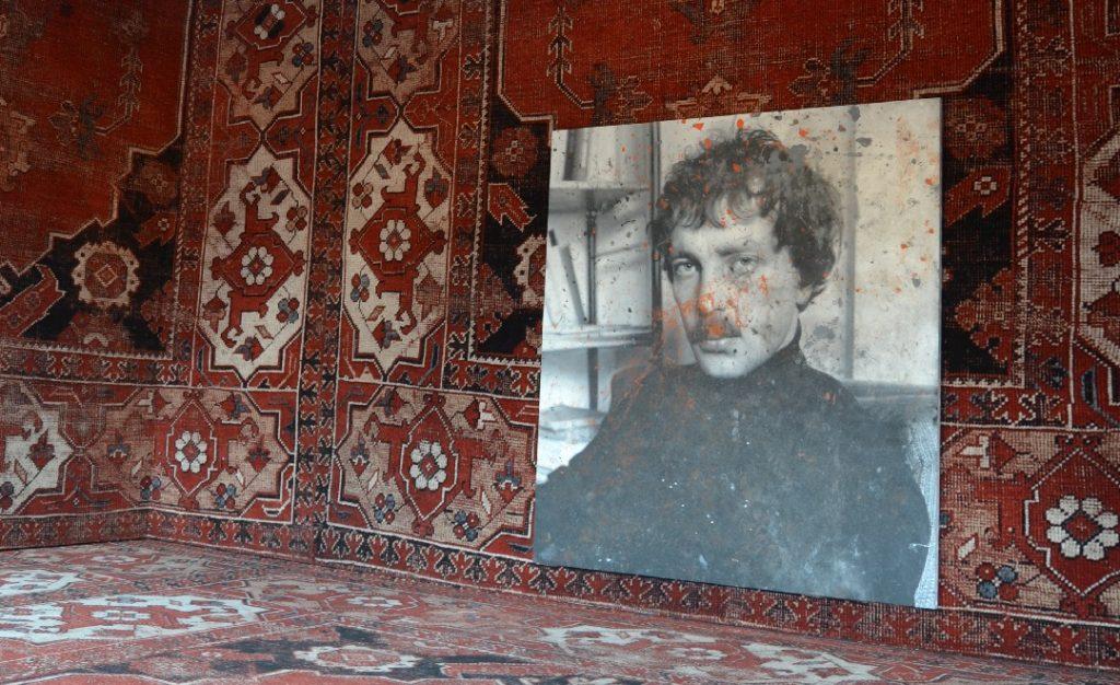 Rudolf Stingel im Palazzo Grassi Venedig