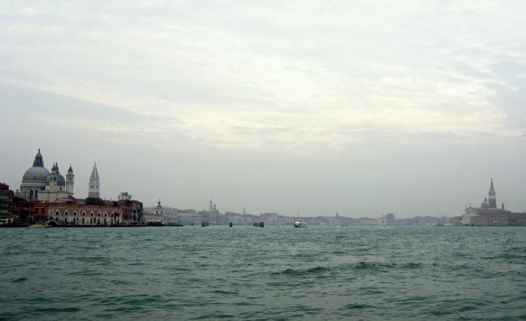 Venedig - Blick vom Giudecca Kanal