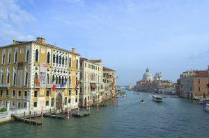 Venedig - Blick von der Accademie-Brücke