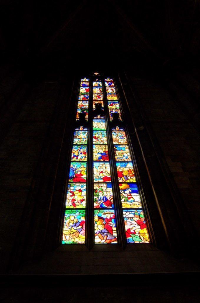 Mailand Domfenster