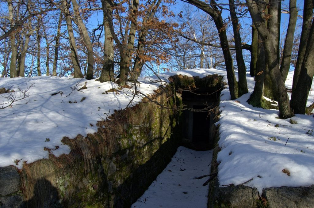Bunker of the Cadorna line