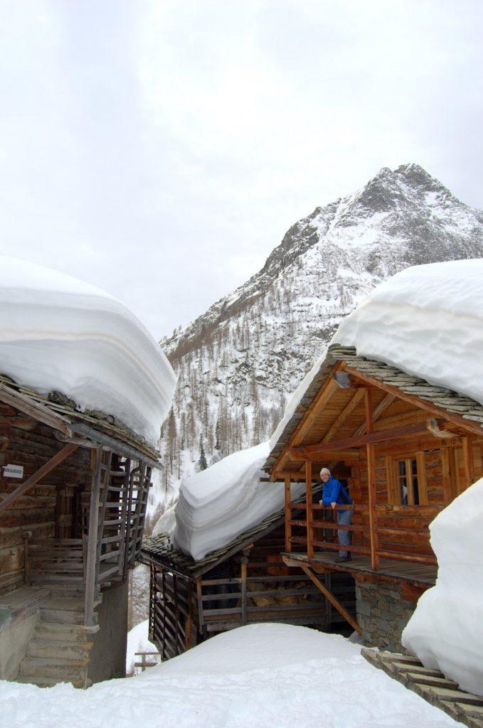 Stadel in Alpenzu im Lystal