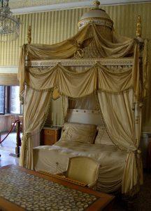 Villa Pisani Napoleons Schlafzimmer