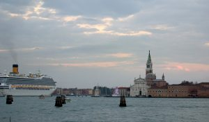 Giudeca-Kanal mit Pott
