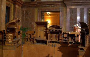 Modell des Teatro Massimo