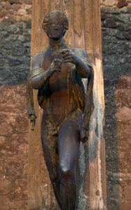 Apollo als Bogenschütze Pompej