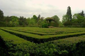 Labyrinth im Garten Valsanzibio