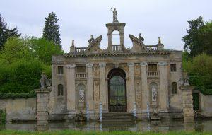 Eingangstor Valsanzibio