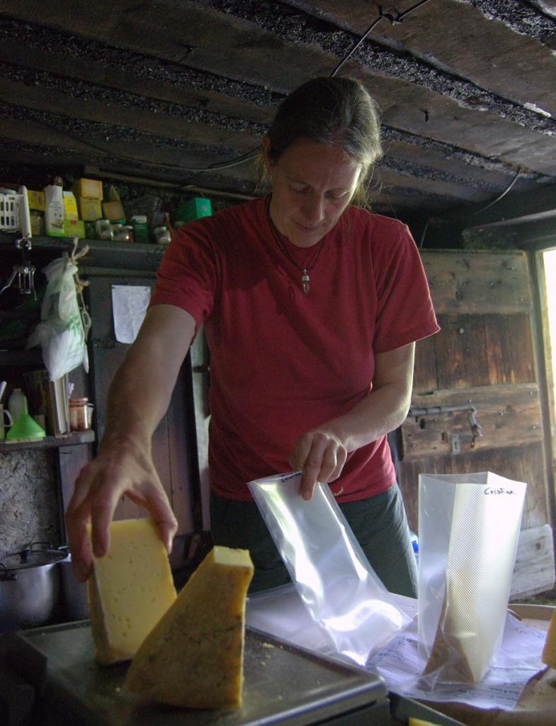Käse für Erzeugergemeinschaft
