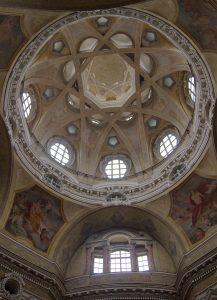Kuppel San Lorenzo von innen