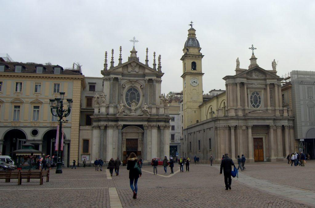 Zwillingskirchen Santa Cristina und San Carlo auf Piazza San Carlo