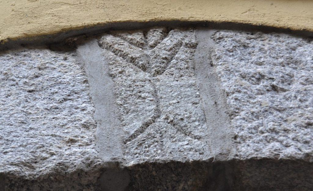 Baummensch in Suna Symbol des Val Grande