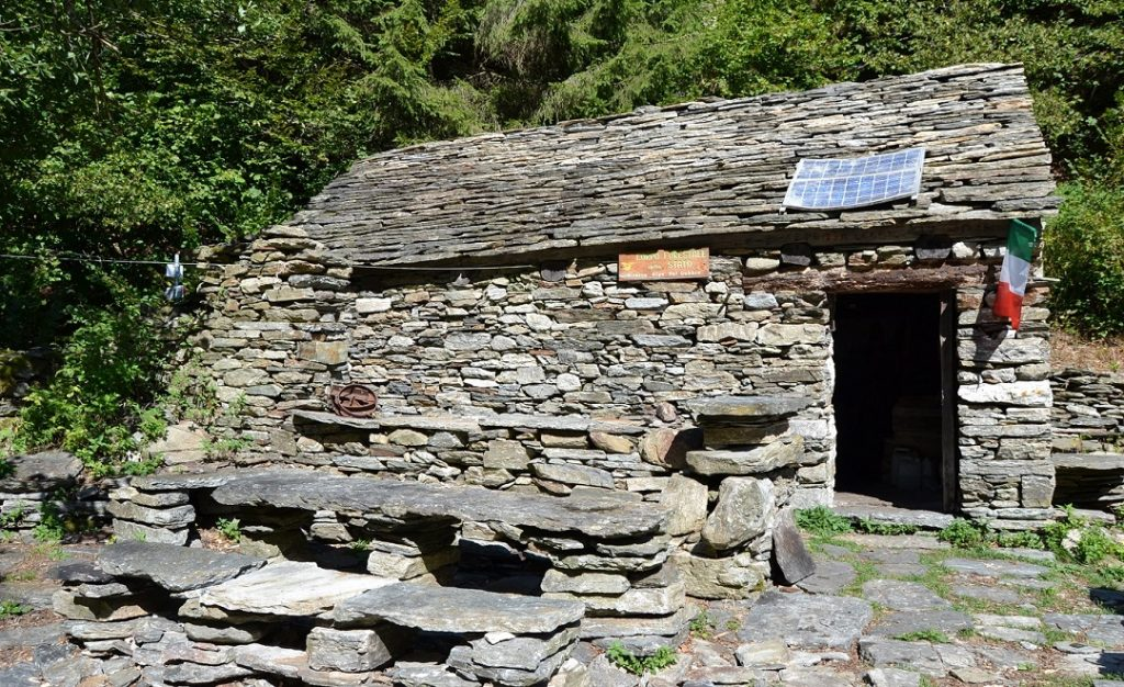 Biwak im Val Gabbio Val Grande