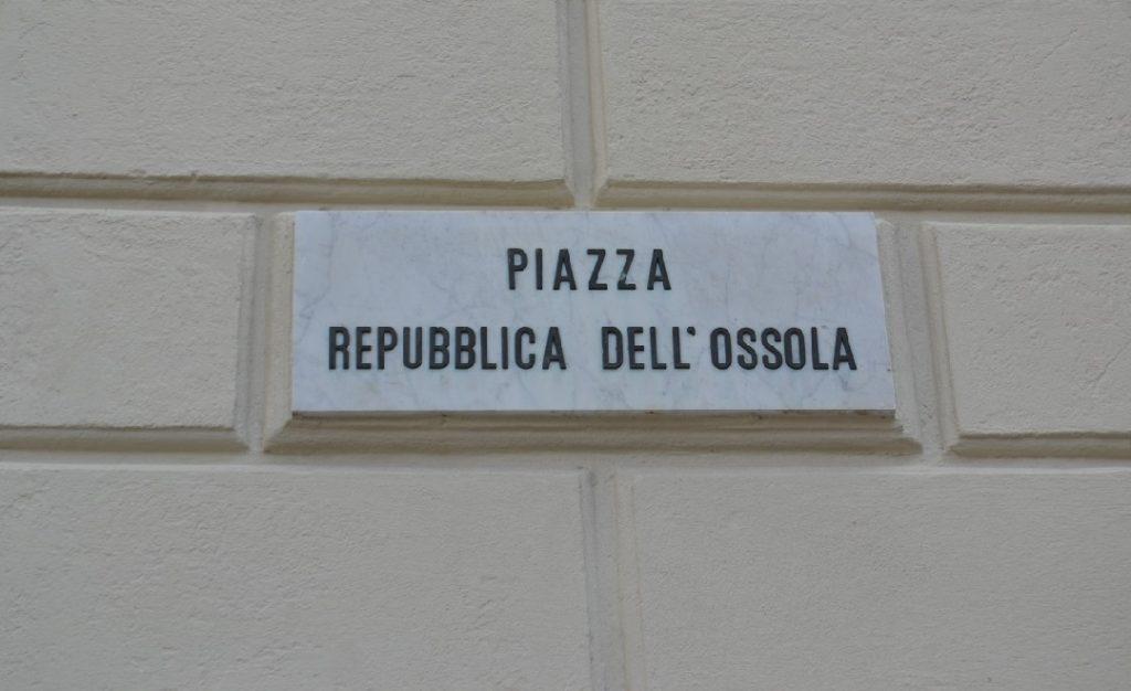 Piazza Repubblica dell Ossola