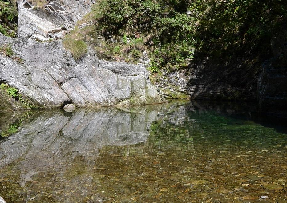 Rio Ragozzale Val Grande Nationalpark