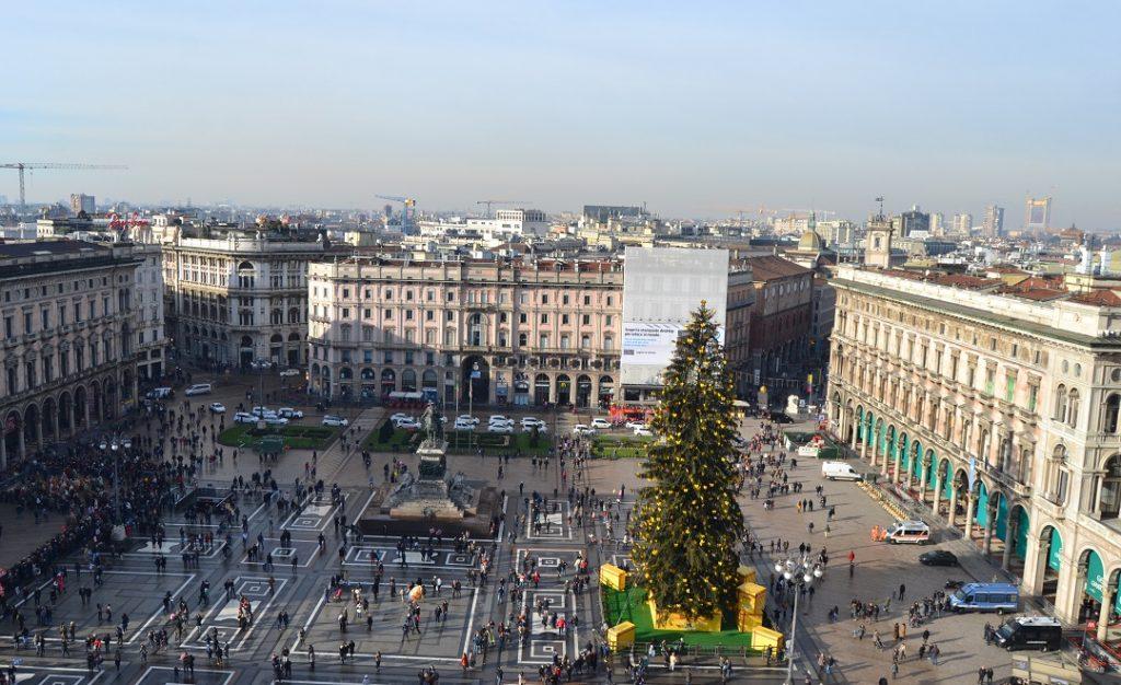 Domplatz Mailand zu Epifania