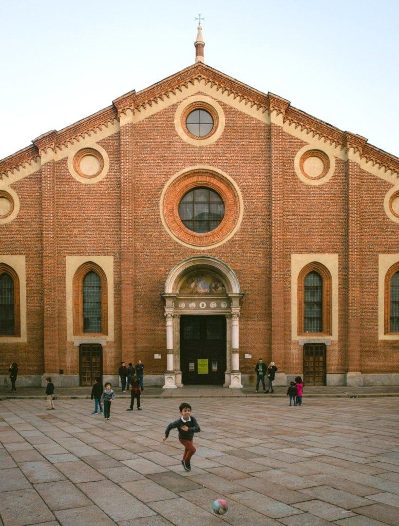 Santa Maria delle Grazie Mailand
